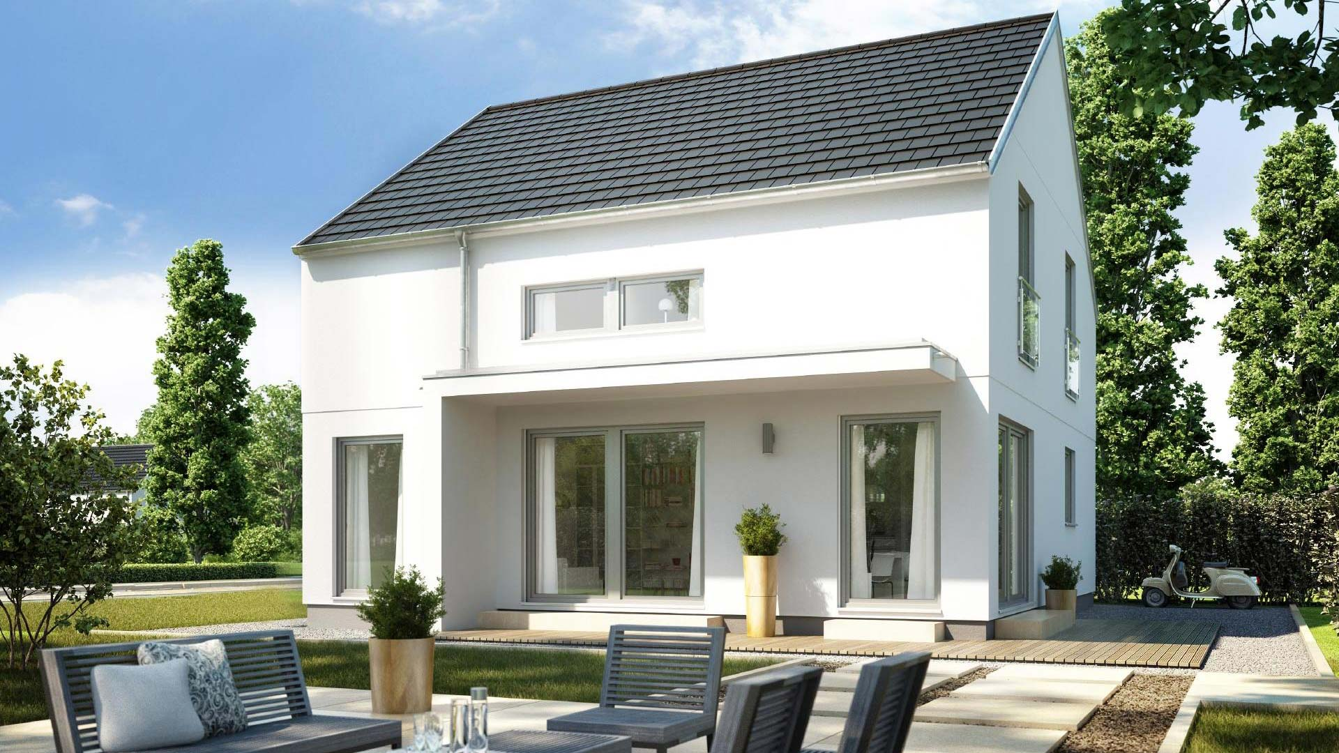 Massivhaus bauen - Häuser Einfamilienhäuser mit flex-Haus